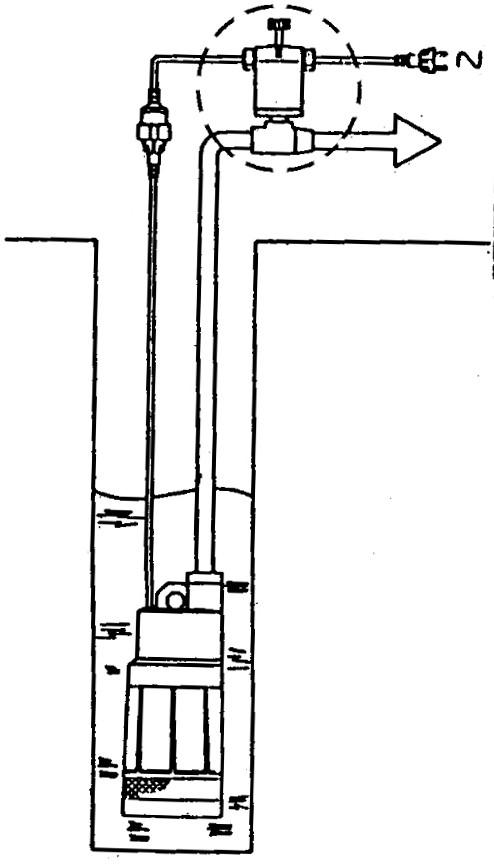 podłaczenie hydrostop do pompy zatapialnej